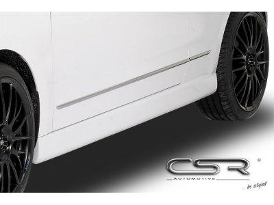 Накладки на пороги от CSR Automotive на Skoda Citigo Hatchback