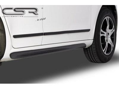 Накладки на пороги Var2 от CSR Automotive на Skoda Citigo