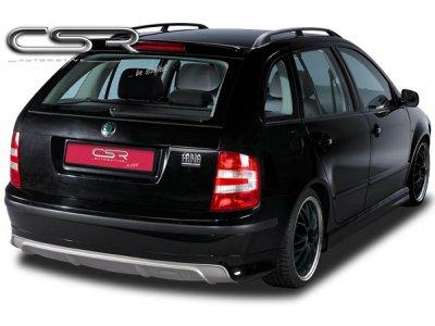 Накладка на задний бампер от CSR Automotive на Skoda Fabia I Wagon