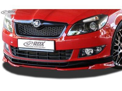 Накладка на передний бампер VARIO-X от RDX Racedesign на Skoda Fabia II Monte Carlo