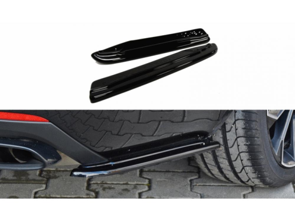 Боковые элероны на задний бампер от Maxton Design на Skoda Octavia III RS
