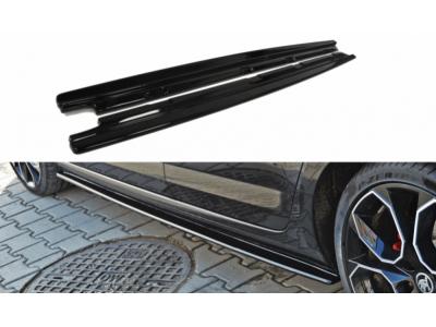 Накладки на пороги от Maxton Design на Skoda Octavia III RS