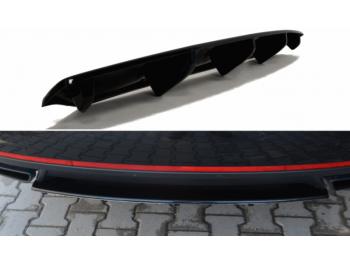 Накладка на задний бампер от Maxton Design на Skoda Octavia III RS