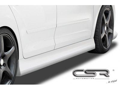 Накладки на пороги от CSR Automotive на Skoda Rapid