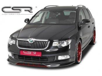 Накладка на передний бампер от CSR Automotive на Skoda Superb B6 Sedan / Wagon