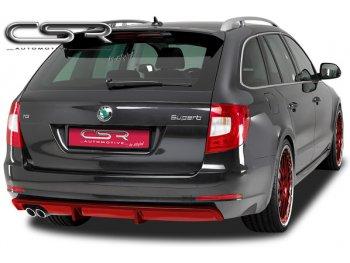 Накладка на задний бампер от CSR Automotive на Skoda Superb B6 Sedan / Wagon