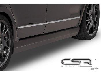 Накладки на пороги от CSR Automotive на Skoda Superb B6