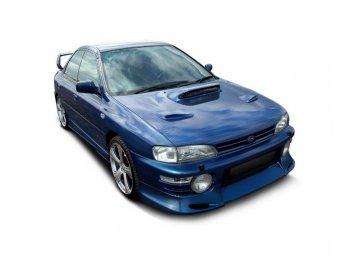 Накладка на передний бампер от Maxton Design для Subaru Impreza I GT / WRX / STI
