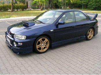 Накладки на пороги J-Spec от Maxton Design для Subaru Impreza I
