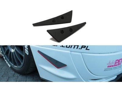 Рассекатели воздуха на передний бампер от Maxton Design для Subaru Impreza II WRX STI Blobeye