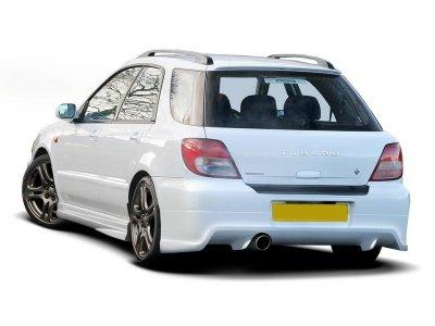 Накладка на передний бампер от Maxton Design для Subaru Impreza II WRX Estate