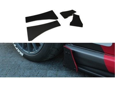 Накладки боковые на задний бампер от Maxton Design для Subaru Impreza II WRX STI Blobeye