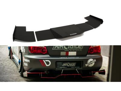 Накладка на задний бампер от Maxton Design для Subaru Impreza II WRX STI Blobeye