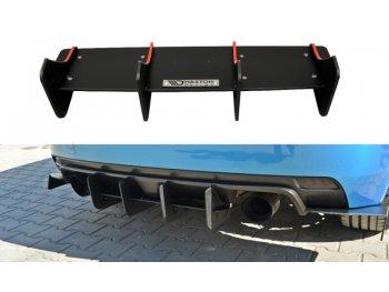 Накладка на задний бампер от Maxton Design для Subaru Impreza III WRX STI