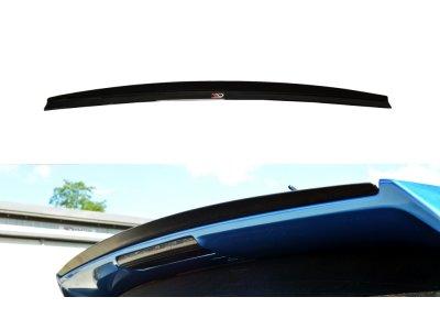 Накладка сплиттер на спойлер багажника от Maxton Design для Subaru Impreza III WRX STI