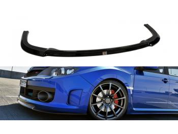 Накладка сплиттер на передний бампер от Maxton Design для Subaru Impreza III WRX STI
