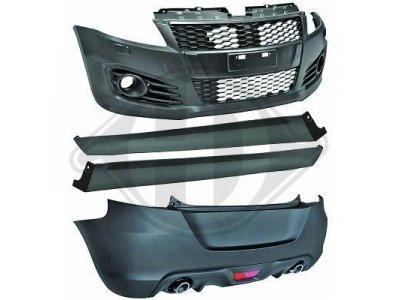 Комплект обвеса в стиле Sport от HD на Suzuki Swift III