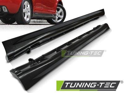 Накладки на пороги Sport Look от Tuning-Tec на Suzuki Swift II