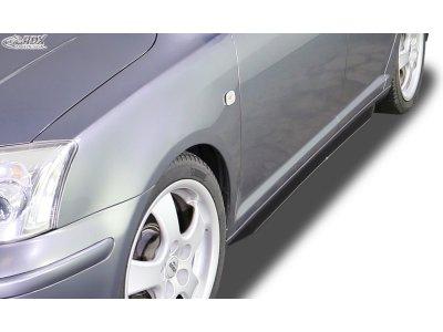 Накладки сплиттеры на пороги от RDX Racedesign для Toyota Avensis II