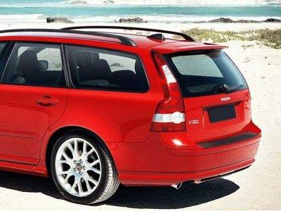 Спойлер на багажник от Maxton Design на Volvo V50