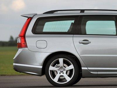 Спойлер на багажник от Maxton Design на Volvo V70 II
