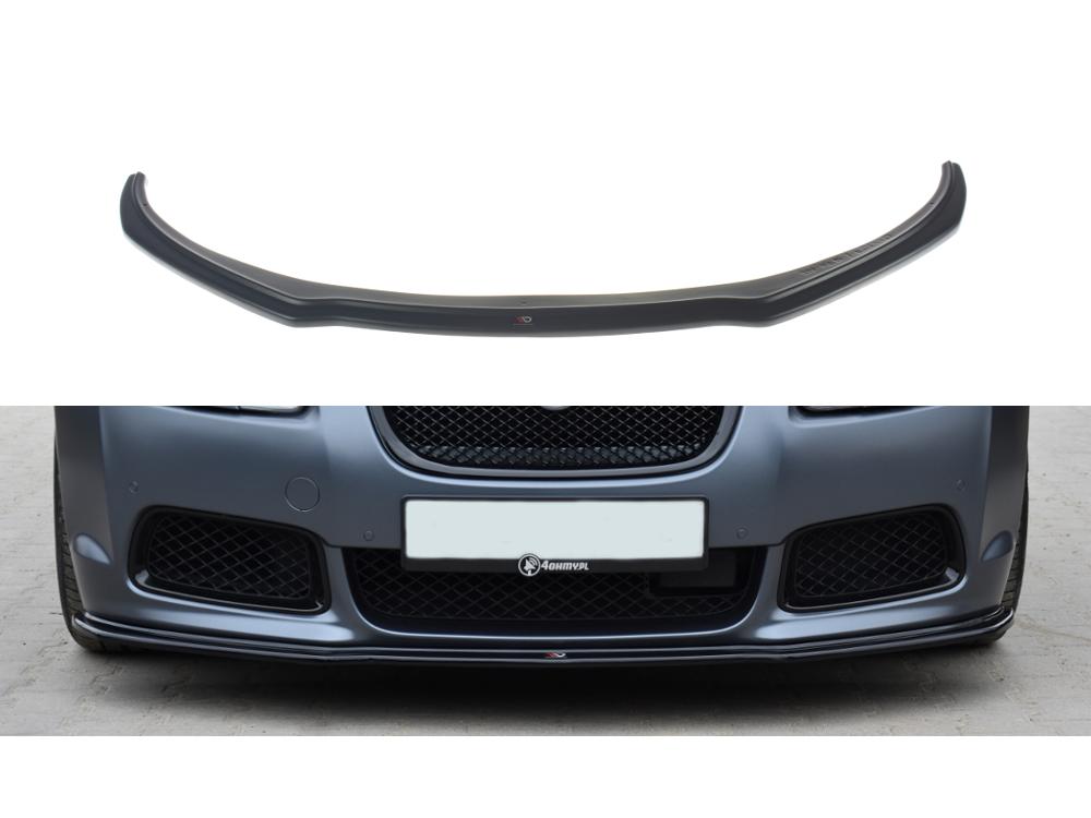 Сплиттер переднего бампера Maxton Design для Jaguar XF-R I
