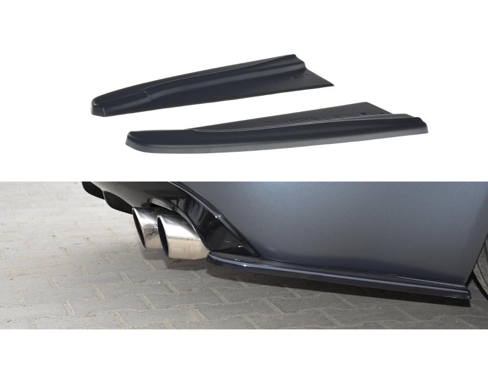 Сплиттеры заднего бампера боковые Maxton Design для Jaguar XF-R I