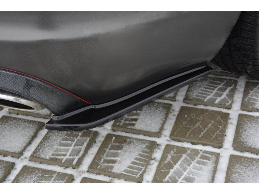 Сплиттеры заднего бампера боковые Maxton Design для Jaguar XF I Sportback S-Pack