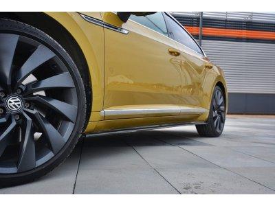 Накладки на пороги от Maxton Design для Volkswagen Arteon