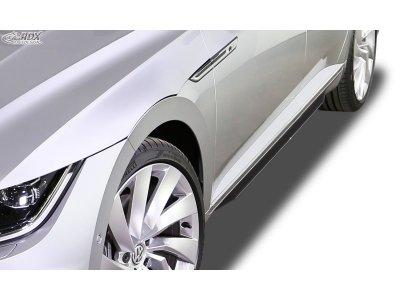 Накладки на пороги от RDX Racedesign на Volkswagen Arteon