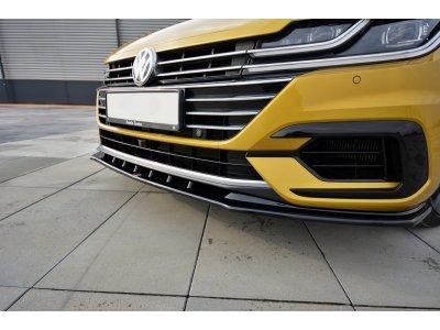 Накладка на передний бампер от Maxton Design для Volkswagen Arteon