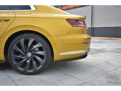 Накладки боковые на задний бампер от Maxton Design для Volkswagen Arteon