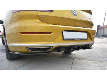 Диффузор заднего бампера от Maxton Design для Volkswagen Arteon