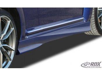 Накладки на пороги от RDX Racedesign на VW Beetle New
