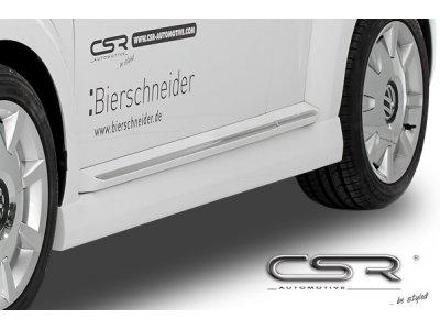 Накладки на пороги от CSR Automotive на VW Beetle New