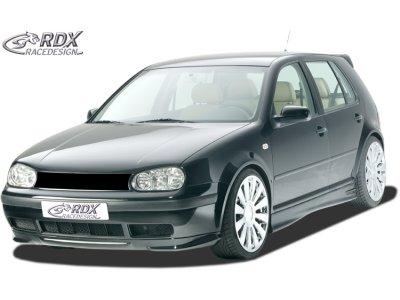 Накладка на передний бампер от RDX Racedesign на VW Golf IV