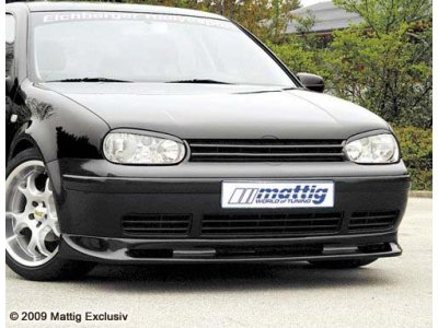 Накладка на передний бампер Mattig на VW Golf IV