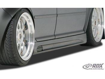 Накладки на пороги GT-Race от RDX Racedesign на Volkswagen Golf IV