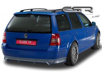 Накладка на задний бампер CSR Automotive на VW Golf IV Wagon