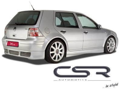 Накладка на задний бампер CSR Automotive на VW Golf IV Hatchback
