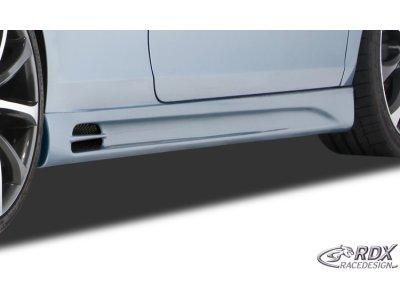 Накладки на пороги GT-Race от RDX Racedesign на VW Golf Plus Wagon