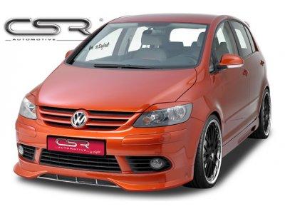 Накладка на передний бампер от CSR Automotive на VW Golf Plus Hatchback