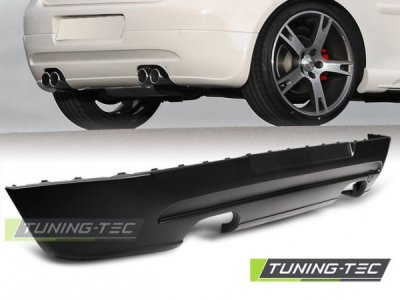Накладка на задний бампер GTI Style на Volkswagen Golf V
