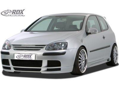 Накладка на передний бампер GT Look от RDX Racedesign на VW Golf V