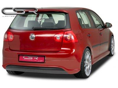 Накладка на задний бампер Var2 от CSR Automotive на VW Golf V