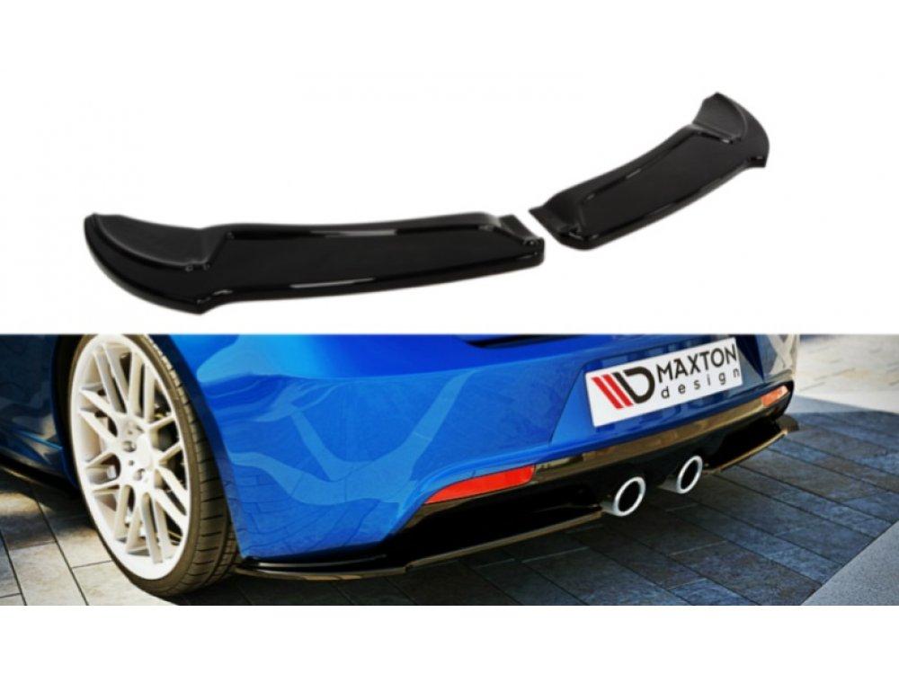 Боковые накладки на задний бампер от Maxton Design на VW Golf VI R