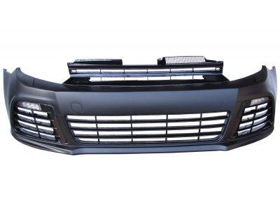 Бампер передний от JOM в стиле R20 с DRL на VW Golf VI