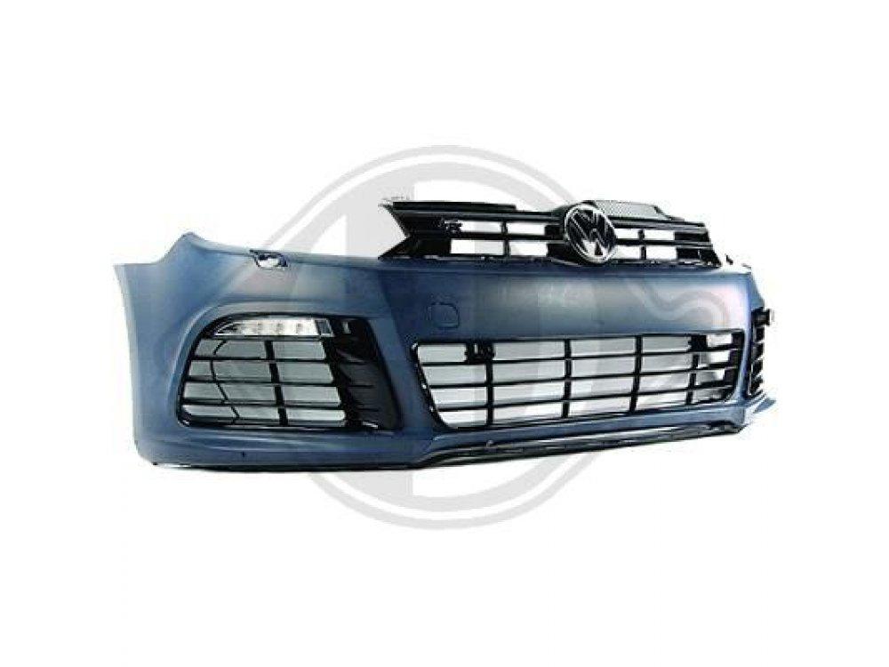 Бампер передний от HD R20 Look на VW Golf VI