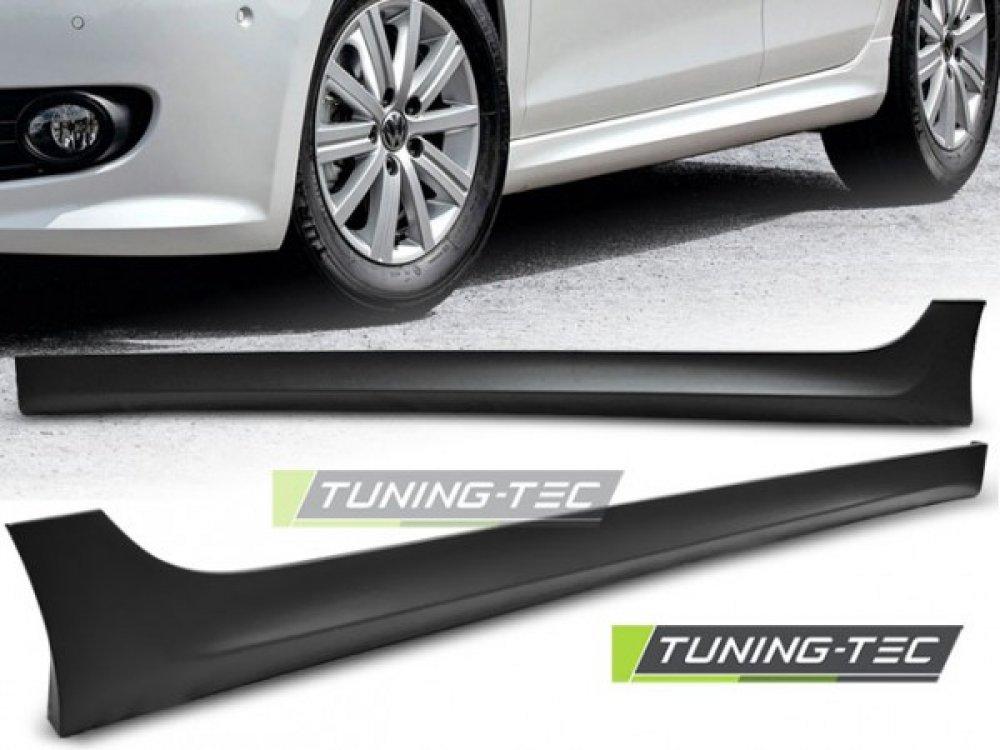Накладки на пороги от Tuning-Tec Votex Style на Volkswagen Golf VI