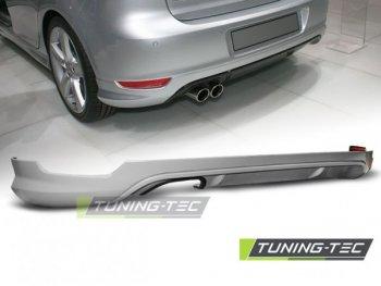 Накладка на задний бампер от Tuning-Tec Votex Style на Volkswagen Golf VI